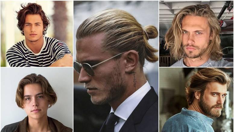 Muškarac ste i imate dužu kosu? Ovih 20 frizura ćete zavoljeti