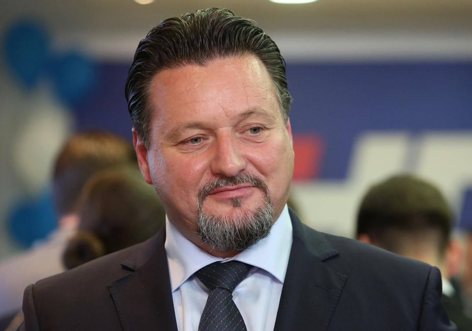 Zagreb: Doček izbornih rezultata u središnjici HDZ-a