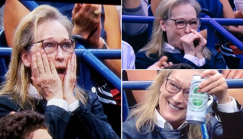 'Svi smo mi Meryl': Glumica je postala hit na teniskom meču