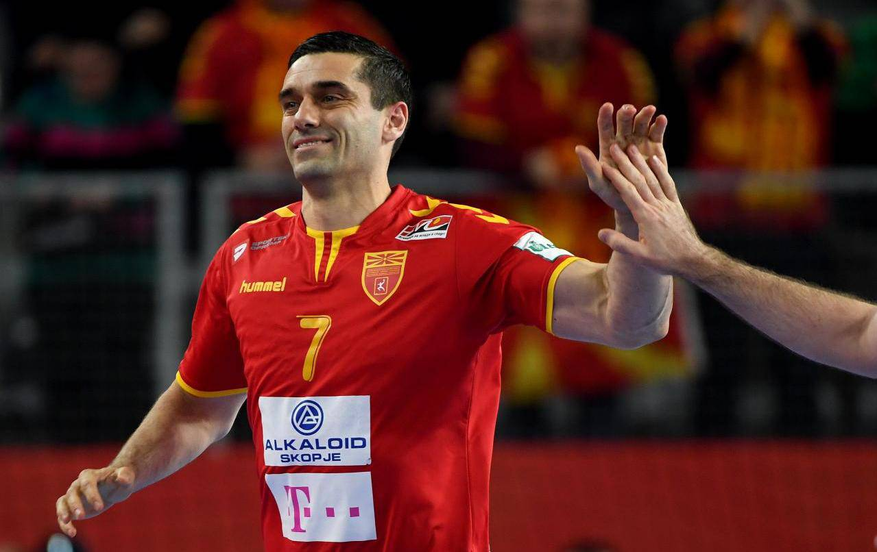 European Handball Championship: Macedonia vs Czech Republic
