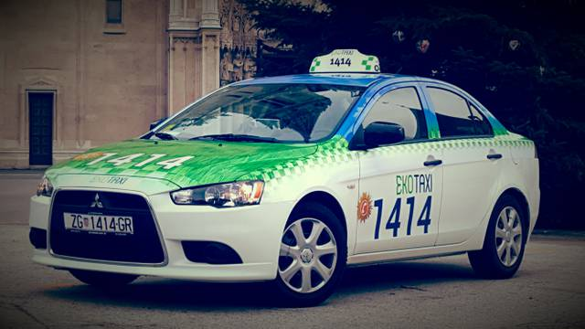 Eko taxi, jedini CO2 neutralan taxi prijevoznik u Hrvatskoj