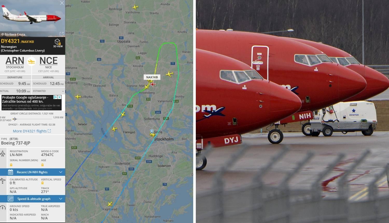 Bomba u avionu? 169 putnika evakuirano, sletjeli u Švedsku