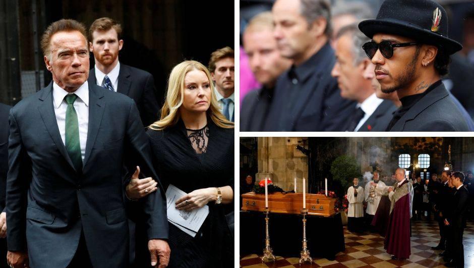 Tisuće ispratile Laudu: Plakao čak i Arnold Schwarzenegger...