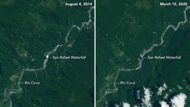 Nestao najveći ekvadorski vodopad San Rafael od 45 m