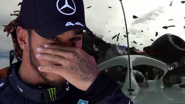 VIDEO Hamilton: Hvala Bogu na Halo sustavu, spasio mi je vrat
