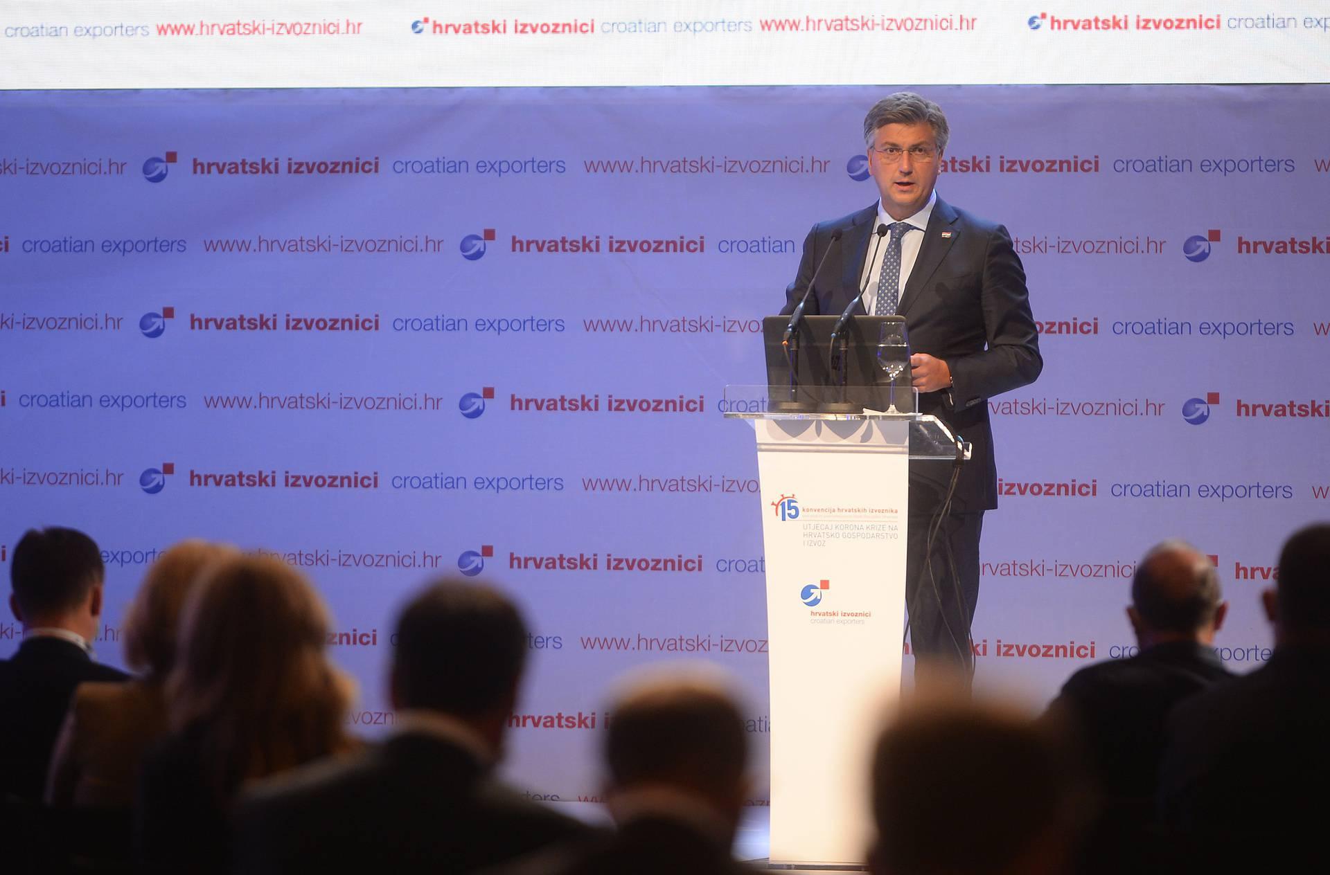 Plenković: 'Naš je cilj povećati broj izvoznika i poticati izvozno orijentiranu industriju'