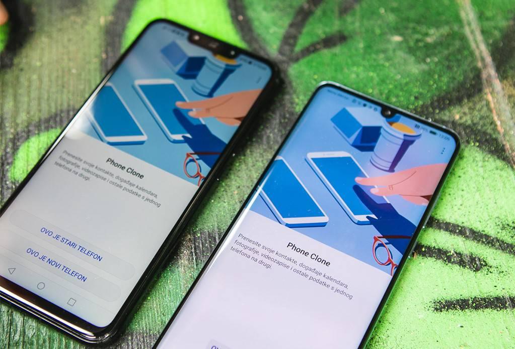 Huawei P40 serija: S lakoćom postavite novi telefon...