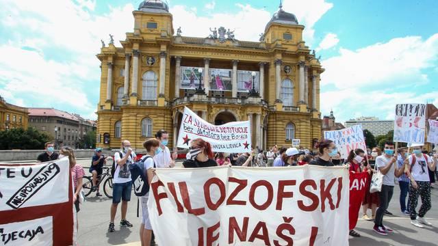Traže smjenu Borasa: Studenti donijeli Plenkiju 8000 potpisa