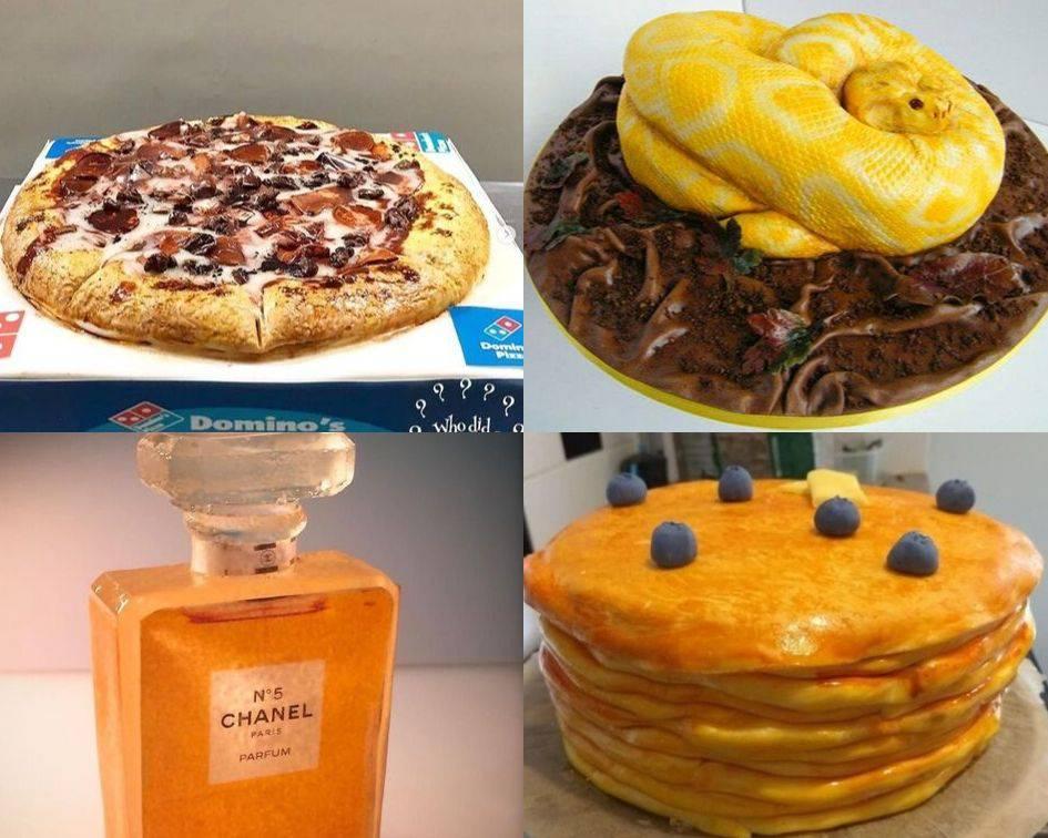 Nećete vjerovati da su to samo torte! Jestiva zmija, tenisica...