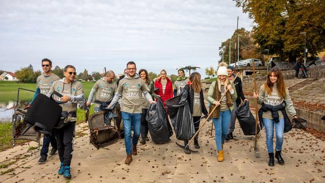 U akciji čuvara prirode i Jamnice čistila se obala rijeke Kupe u Sisku