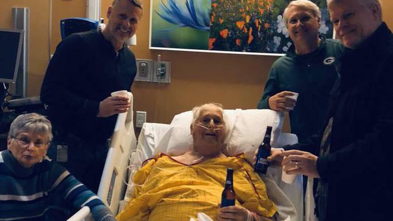 Djed je samo želio popiti još jedno pivo sa svojim sinovima
