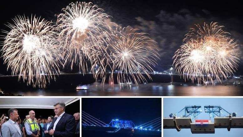 Spojen Pelješki most: 'Ovo je svehrvatski projekt, koji znači novu, nezamjenjivu kvalitetu'