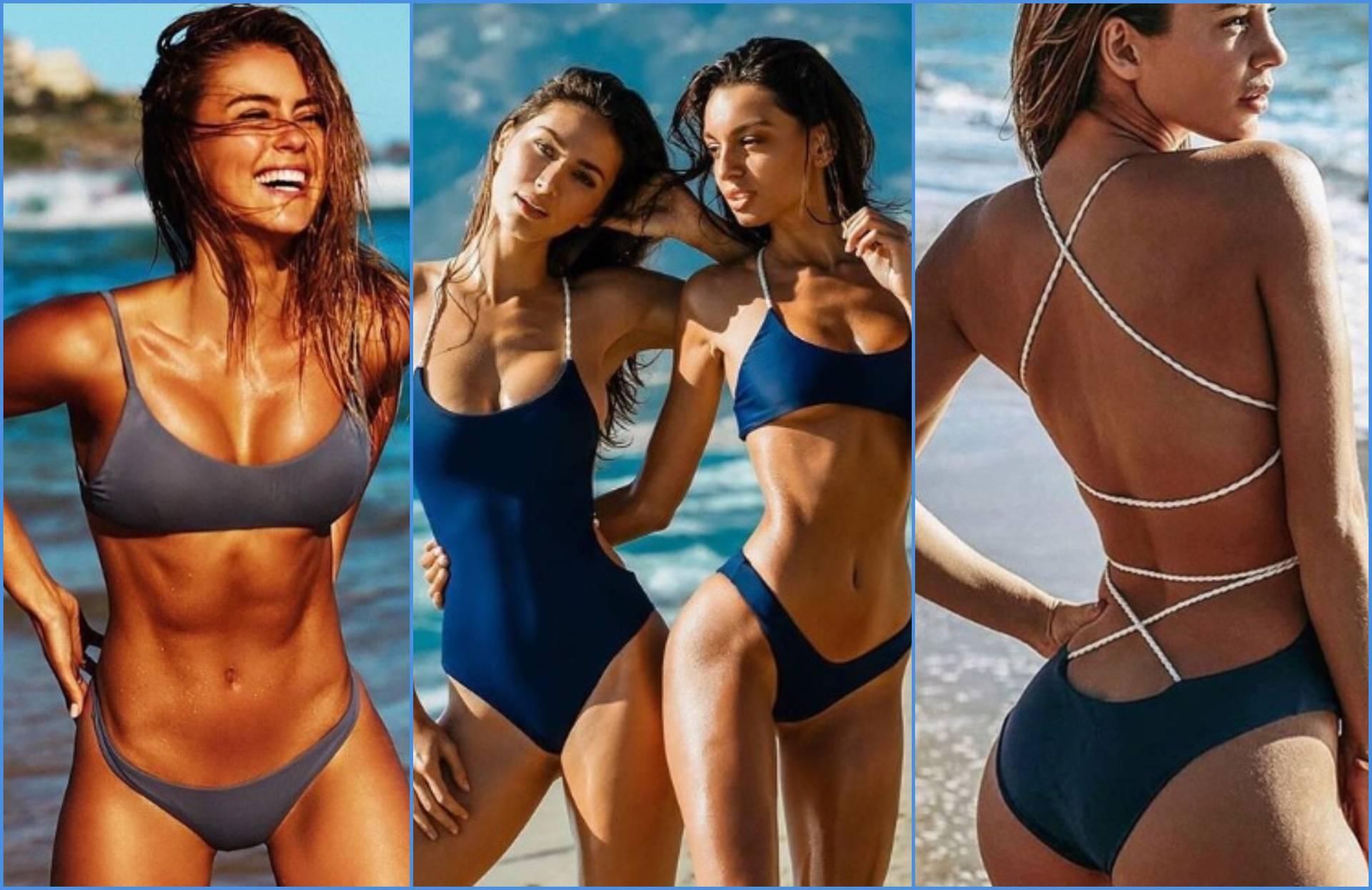 Ilustracije kupaćih kostima