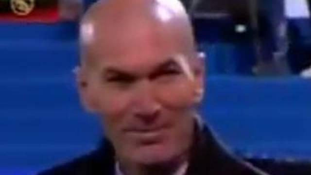 Blam Madrid: Zidaneov mučni osmijeh nakon gola govori sve
