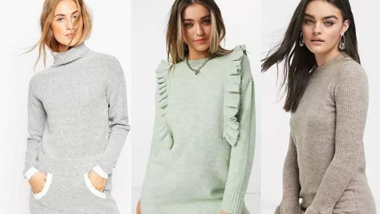 Raznolikost pletene haljine: 7 komotnih kombinacija za dan