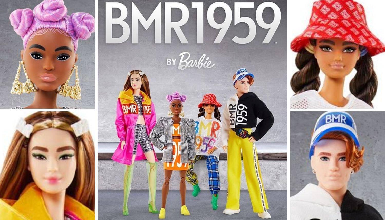 Nove četiri vrste Barbika imaju puno gušće obrve, a odjeća je kombinacija ulice i visoke mode