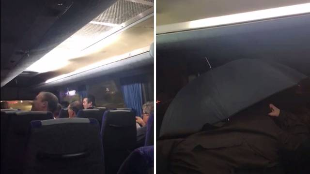 Prokišnjavao bus: 'Sve je bilo mokro, otvorili smo kišobrane'