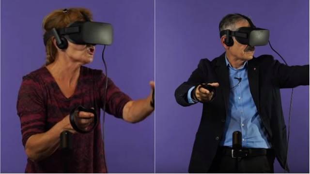 Umirovljenicima smo dali da igraju VR: Vrištali su od straha