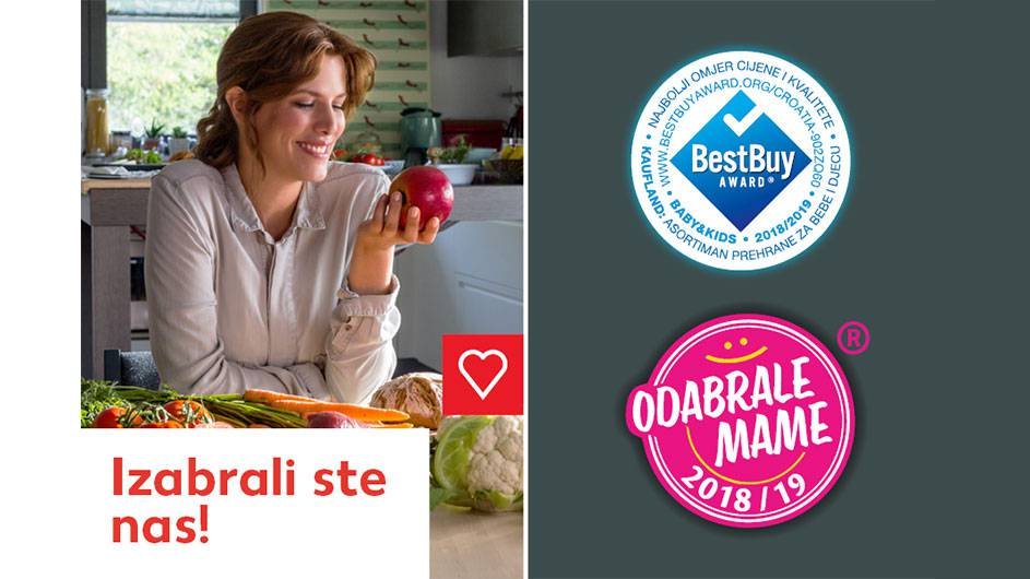 "Kauflandu: Nagrada ""Odabrale mame"" i Best Buy Award"