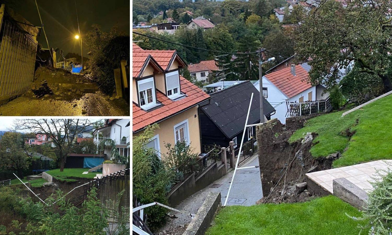 Nakon dva manja potresa na Bukovcu se urušio potporni zid