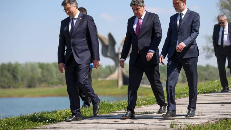 Manjine, Predsjednik države i premijer  će ove godine hodati za žrtve Jasenovca u tri kolone