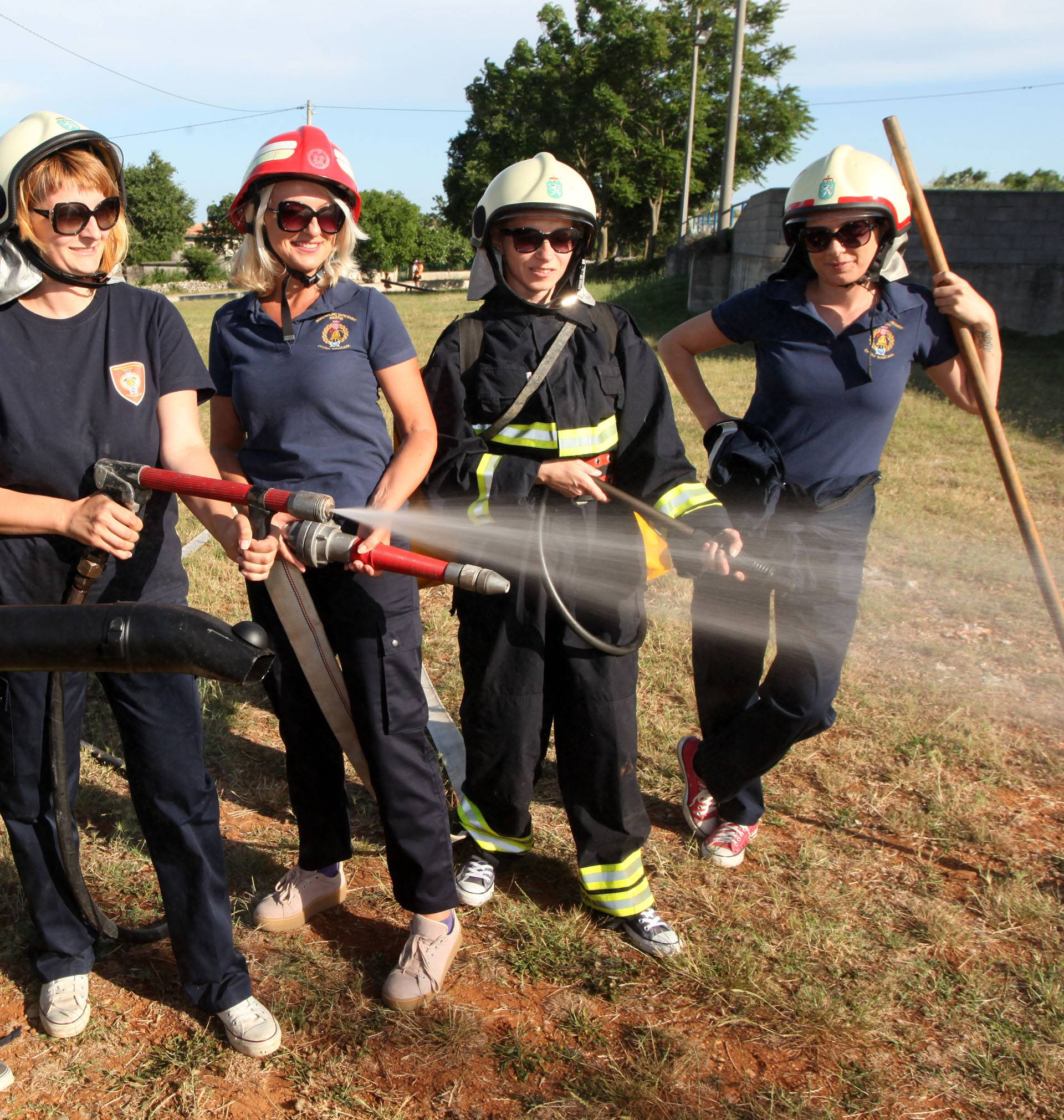 Neustrašive vatrene djevojke: 'Moraš se roditi za ovaj posao'