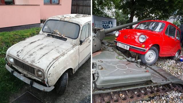 Osijek ima crvenog fiću, a Petrinja će imati Renault 4
