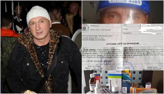 Srpski pjevač zaražen pobjegao iz bolnice, policija ga uhvatila