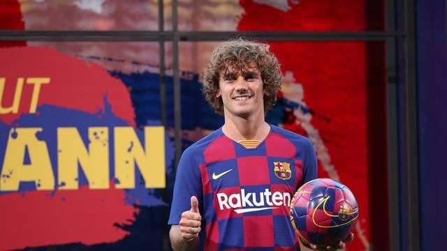 FC Barcelona presentation for new signing Antoine Griezmann
