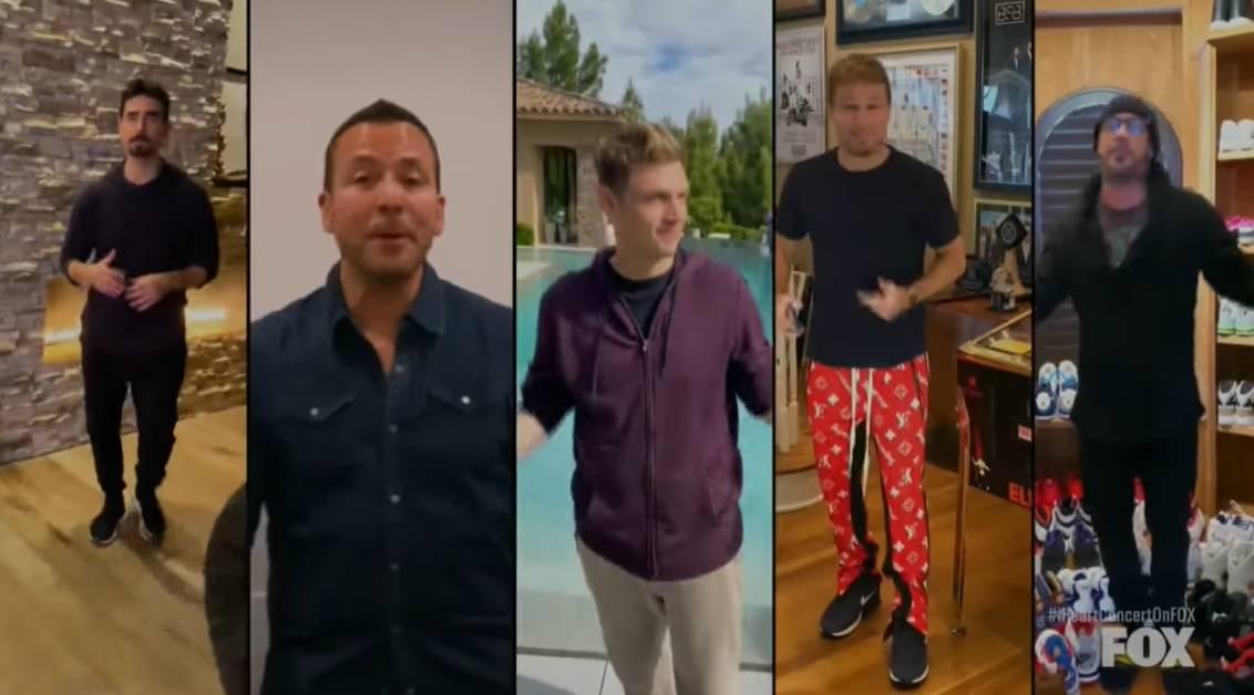 Backstreet Boysi se 'okupili': Od doma pjevali svoj veliki hit