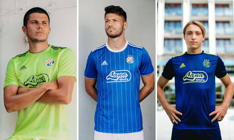 Dinamo predstavio dresove: Oduševila je retro garnitura
