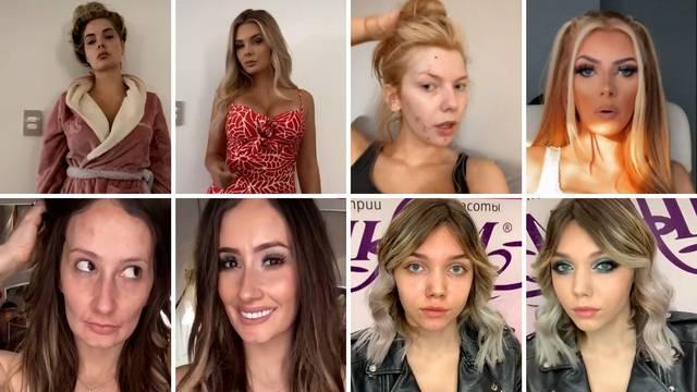 Pokazale kako izgledaju sa i bez šminke: 'Ajme, to nije ista žena'