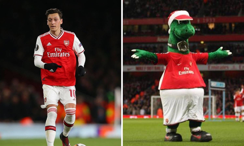 Özil: Plaćat ću Gunnersaurusa dok god sam igrač Arsenala...