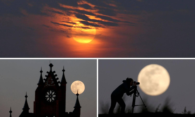 Spektakl: Kako se Supermjesec vidio na nebu diljem svijeta...