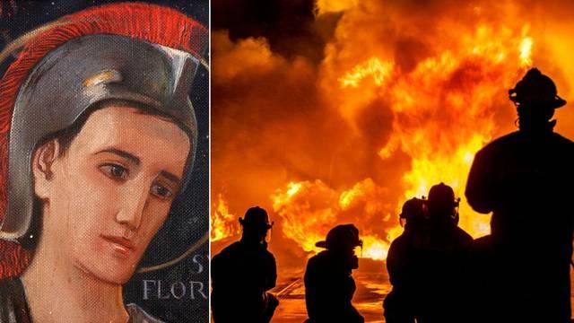 Zaštitnika vatrogasaca mučili su i ubili zbog vjere: 'Na plamenim jezicima ću vam pobjeći u nebo'