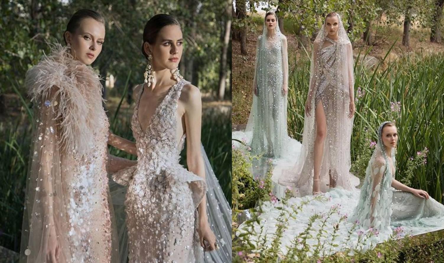 Elie Saab novu je kolekciju Haute Couture vjenčanica posvetio rodnom gradu Beirutu