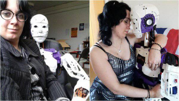 U vezi je s robotom, vjenčat će se čim im to dozvole zakoni...