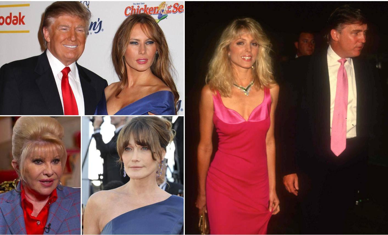 Od ljubavnih trokuta do susreta ljubavnice i supruge: Trump je prevario svaku s kojom bi mutio