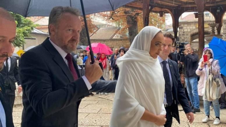 Vjenčanje od četiri milijuna kuna: Unuka Alije Izetbegovića se udala, kum joj je bio Erdogan