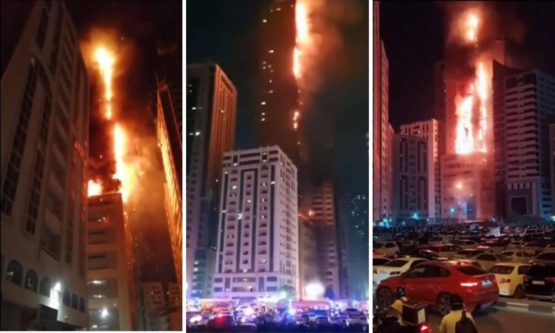 Zastrašujući video: Neboder od 48 katova gorio u Emiratima