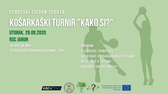 Na Jarunu se održava turnir u sklopu Europskog tjedna sporta