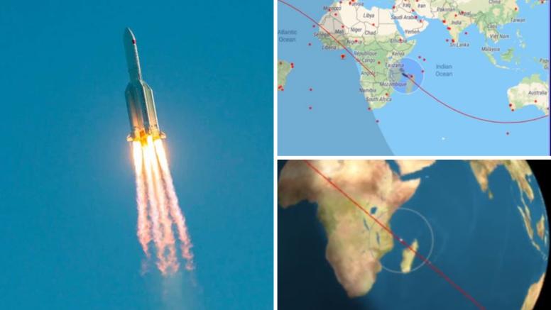 Kineska raketa pala u more kod Maldiva, NASA kritizira: 'Mora se smanjiti rizik za ljude'