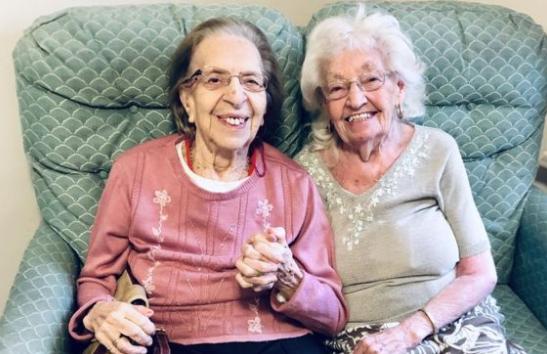 Prijateljice 80 godina: Znaju se od škole, sada su skupa u domu