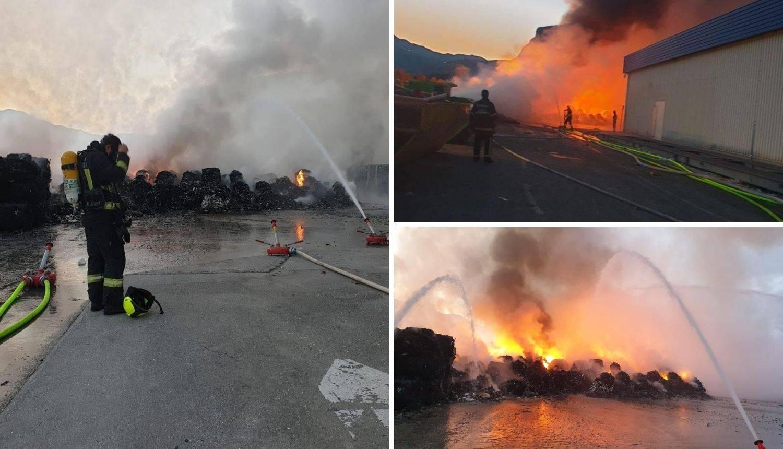 'Plamen je bio toliko velik da su neki pomislili da gori skladište'