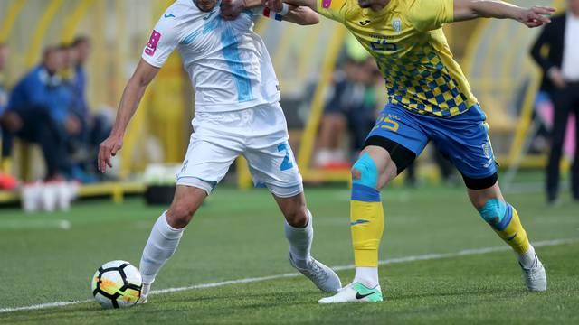 Zaprešić: Inter i Rijeka sastali se u u 11. kolu HT Prve lige