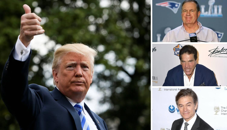 'Hulk', dr. Oz i Bill Belichick savjetovat će Trumpa o sportu
