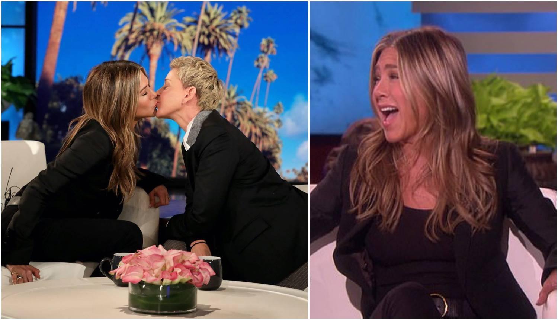 Jennifer i Ellen su se poljubile u emisiji: 'Imaš mekane usnice'