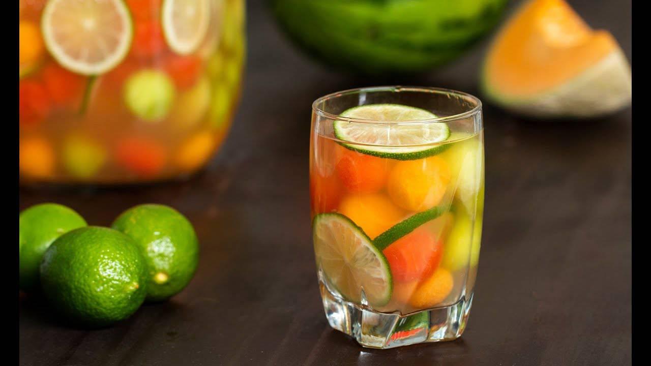 Pjenušavo i vrlo osvježavajuće: Fina sangrija od dinje i lubenice