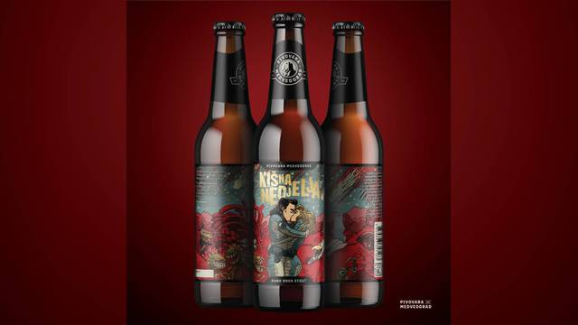 Punk rock stout iz Pivovare Medvedgrad prati izlazak novog singla Hladnog piva