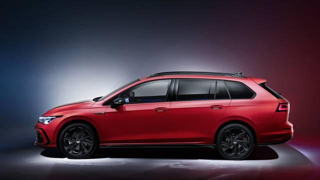 The new Volkswagen Golf Variant R-Line